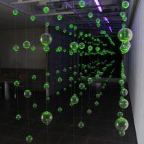 個展「ウランガラスを使った試み」